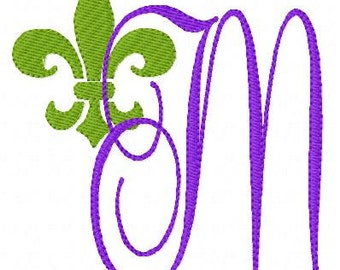Fleur De Lis //Machine Embroidery Monogram Font Design Set, Machine Embroidery Designs, Embroidery Font, Monogram Embroidery,Joyful Stitches