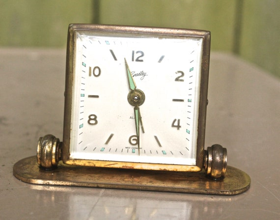 Items Similar To Vintage Folding Alarm Clock