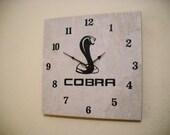 Mustang cobra wall clock