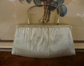 Vintage Shimmer Gold Purse
