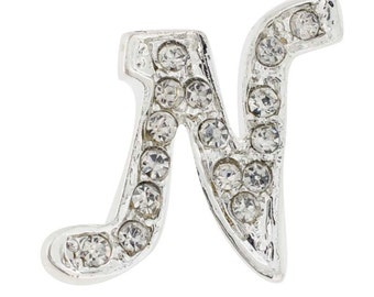 Letter N Tag Pin Brooch Pin 101230N