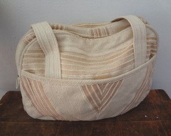 V I N T A G E 1970s Boho Cotton Purse