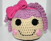 Pillow Fluff N Stuff Lalaloopsy Hat - 0-3, 3-6, 6-12, toddler or child