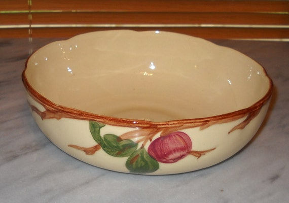 Franciscan Apple 8 Inch Vegetable Serving Bowl By