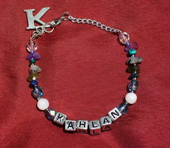 Personalized Gemstone Bracelet