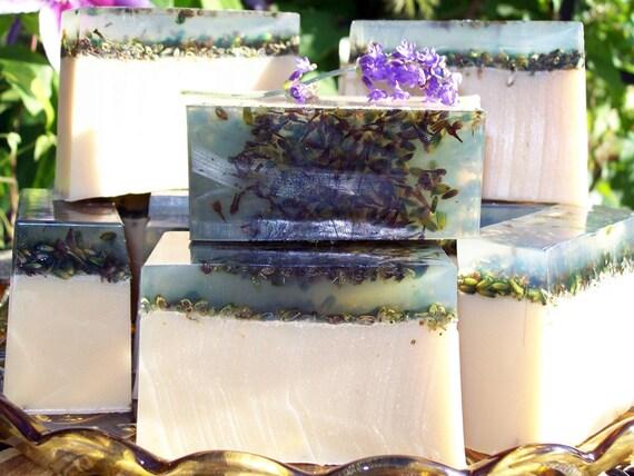 Chamomile & Lavender Herbal Quintet Butter Soap 4 oz. Bar