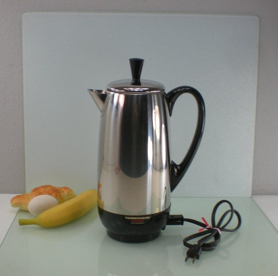 Farberware Coffee Maker Superfast Stainless By Oldetymestore