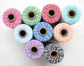 25 Yards of Bakers Twine, choose 1 color - TWINE trim not in Spool A550