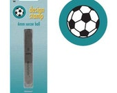 Soccer Ball Metal Design Stamp--Brand New-Steel Stamp for Metalwork- 6 mm