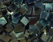 """100 1/2"""" Calypso Blue Wispy Stained Glass Mosaic Tiles"""