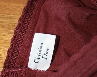 VTG Christian Dior Tights Hosiery Plume Size 4