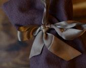 Wine Bottle Bag - FREE SHIPPING - Purple