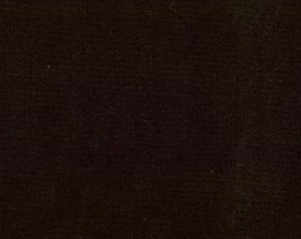 Moda Bella Black Fabric Bella Solid Black Fabric Cotton Quilting Fabric - By The 1/2 Yard