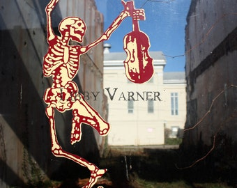 Death Dances a Jig Fine Art Skeleton Photograph - Free Shipping in US-