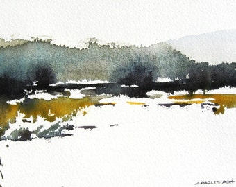 Rio Chama - Original Watercolor Painting