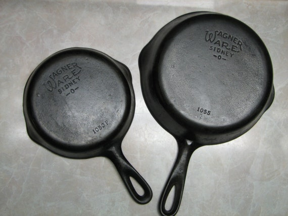Wagner Ware Sidney O Skillet Set Frying By Terenciostreasures