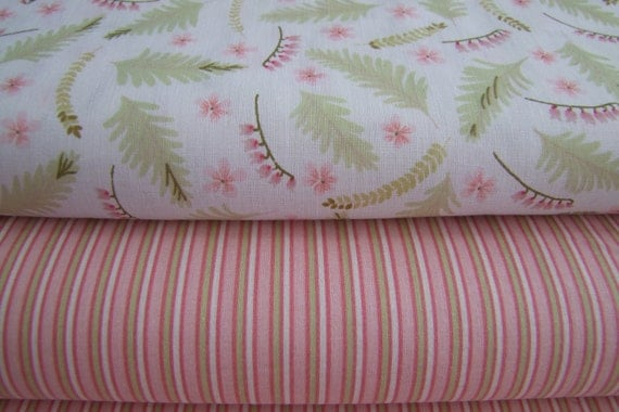 Clearance Sale 100 Percent Cotton Fabric Print 2 Yard Bundle of 2 Prints