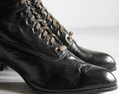 antique women's edwardian shoes - wretchedshekels