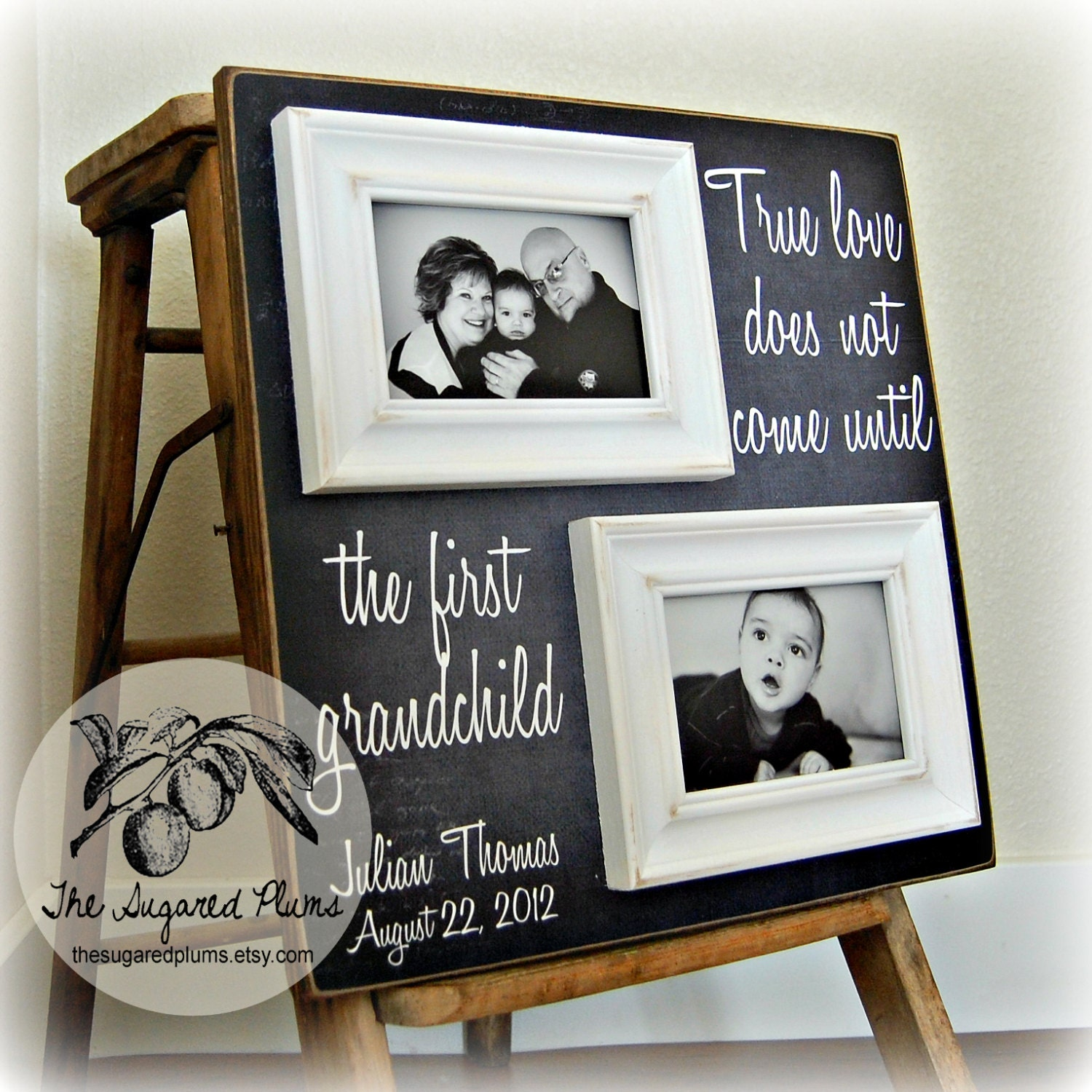 Gifts For Grandparents Personalized Picture Frame Custom
