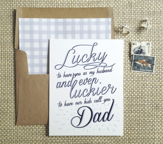 Unusual image regarding lucky to have a dad like you printable