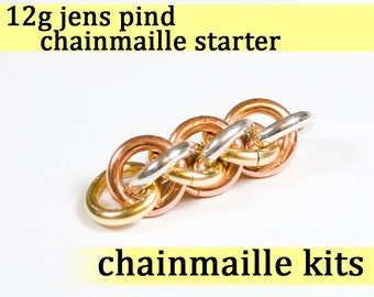 12 gauge Jens Pind Chainmaille Starter 12g