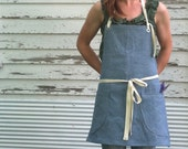 Denim Utility Apron 7-10 Day Production