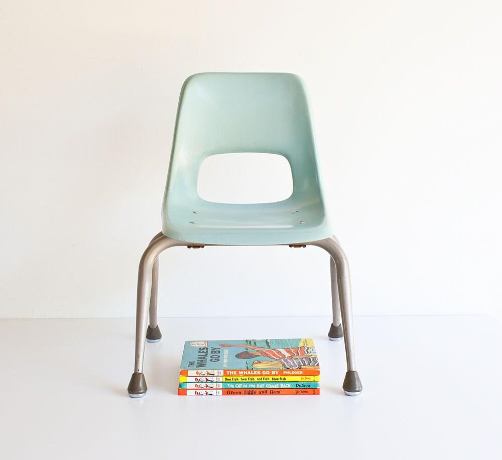Vintage Mid Century Modern Kids Chair