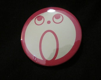 "2.25"" Ace Attorney :O Face Button"