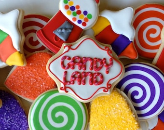 Candy Land Sugar Cookies