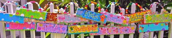 Custom Name for Kids, Personalized Name Sign for Kids, Custom Name Sign for Kid's Room, Personailzed Name For Kids