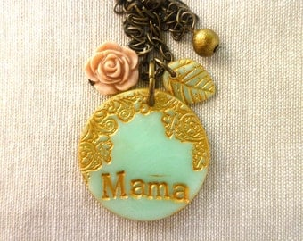 Mama Necklace - Personalized Jewelry