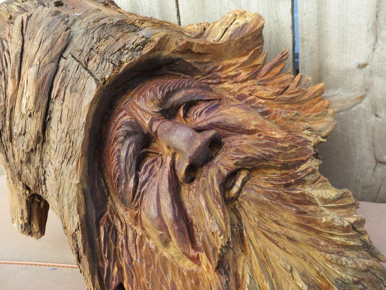 Rumpelstiltskin large tree spirit dryad bearded