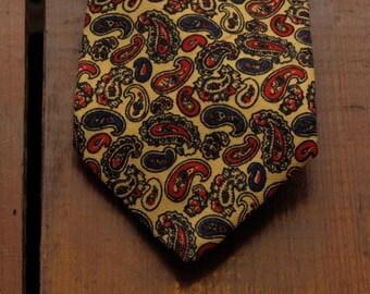 vintage brooks brothers paisley tie