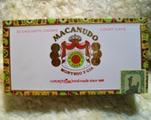 Cigar Box for crafting, purses, supplies  - MACANUDO - Court Cafe - Empty Box