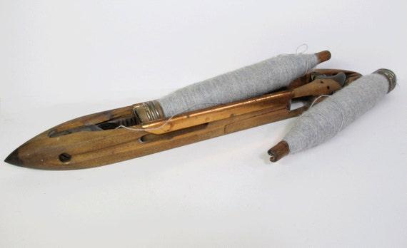 Items similar to Vintage Flying Shuttle Loom Weavers ...