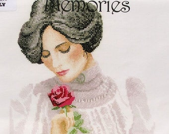 Secret Love - A Precious Memories Cross Stitch Chart - John Clayton - Heritage Crafts