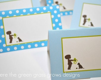 Frog Snail and Puppy Dog Tail Table Food Signs