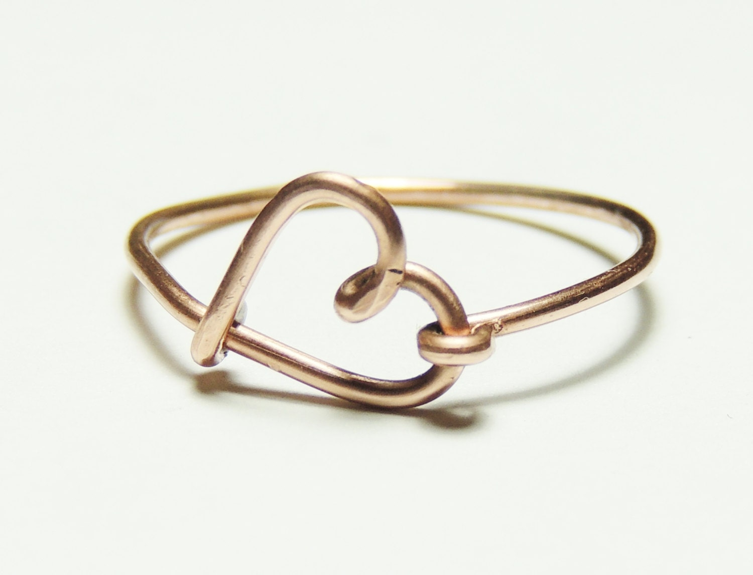 How To Make Wire Love Rings