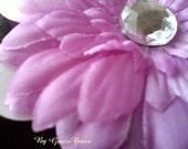 Small Lilac Daisy Hair Clip