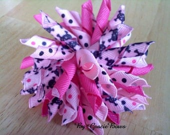 Korker Hair Bow- Pirate Princess