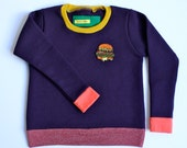 STEPHANIE - Fleece Pullover Sweater - Size 4T