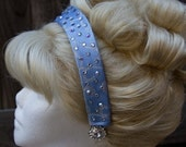 Cinderella Princess Headband Screen Quality Custom Couture withSwarovski Crystals