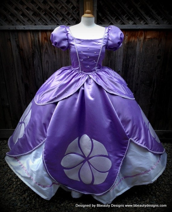 Wedding Dresses: Sofia The First Princess Inspired Dress Gown By BbeautyDesigns