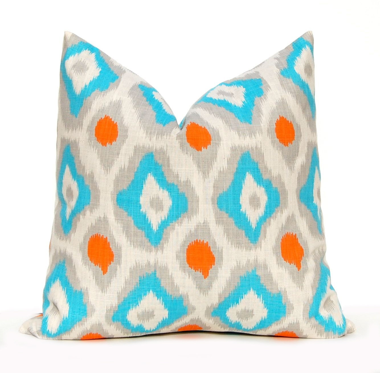 Throw Pillow Turquoise : Chandeliers & Pendant Lights