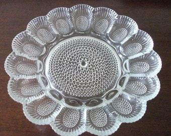 Vintage   Egg Platter
