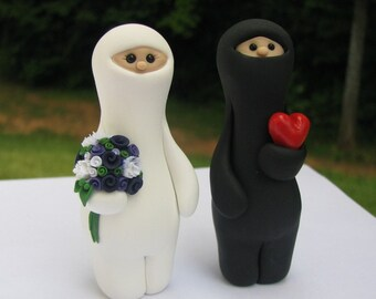 Ninja Love wedding cake topper