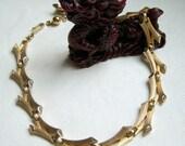 Crown Trifari Bamboo Necklace