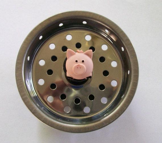 Piggy Kitchen Sink Strainer Basket Drain By