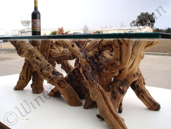 Vinya alionza old vine grapevine coffee table for Table and vine