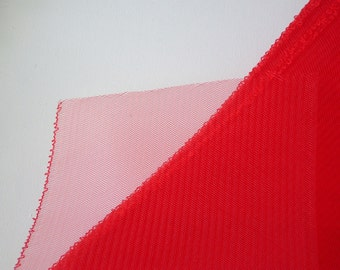 6 inch Flat Crinoline -Red
